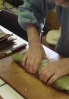 鯖寿司作り