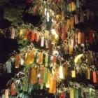 高台寺の笹飾り